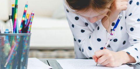 Как да мотивираме първолака да пише своите домашни с интерес?